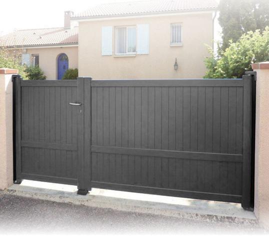 devis portail avec portillon. Black Bedroom Furniture Sets. Home Design Ideas